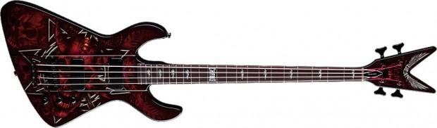 Dean Demonator 4 Chaos David 'Evil D' Vincent Signature Bass