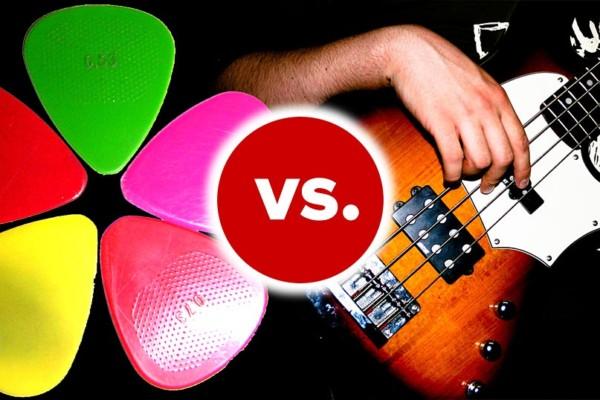The Bass Debate: Pick vs Fingers