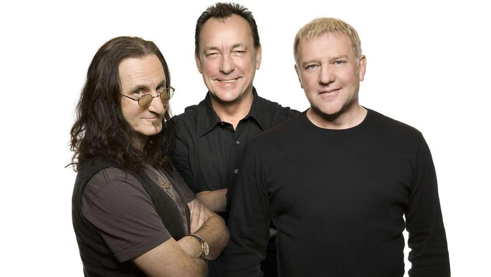Rush: Geddy Lee, Neil Peart and Alex Lifeson