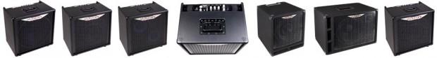 Ashdown MiBass Combo Amps lineup