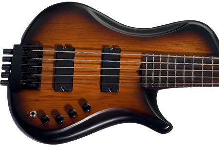 Brubaker Introduces Brute MJXSC Single Cut 5-String Bass