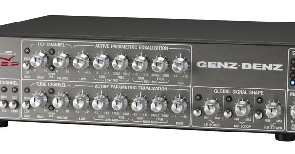 Genz Benz Introduces Shuttle Max 12.2 Bass Amp