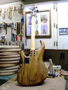 Kinal MK21 Bass with Korina Body