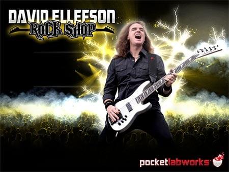 App Review: David Ellefson Rock Shop