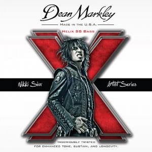 Dean Markley Nikki Sixx Helix HD SS Bass Strings