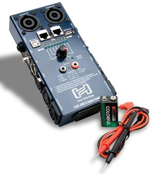 Hosa Technology Introduces CBT-500 Cable Tester
