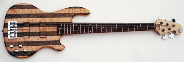 Hot Wire Bass Inlaw 521 BO Bass - full view