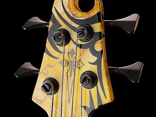 """Overture Guitars Introduces Timothy Gaines Signature """"TG"""" Stronghold Bass"""