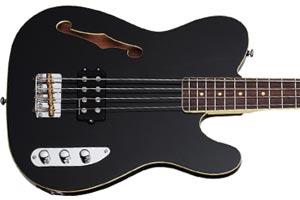 Schecter Now Shipping Baron-H Vintage Semi-Hollow Body Bass