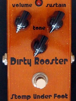 Stomp Under Foot Releases Dirty Rooster Fuzz Pedal