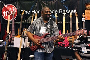 Andrew Gouche with MTD Signature Bass