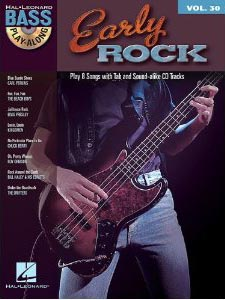 Early Rock: Bass Play-Along