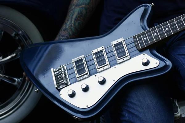 Wild Customs Introduces Bass Version of Vulture Guitar