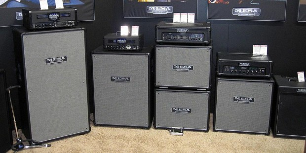 Mesa Boogie's All-Tube Strategy and Prodigy Bass Amps Atop New Bass Cabs