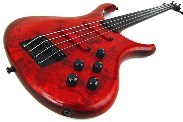 Bass of the Week: Blasius Bali Fretless 4-String