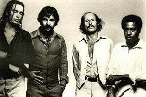 Weather Report's 1978 line-up: Jaco Pastorius, Peter Erskine, Joe Zawinul & Wayne Shorter