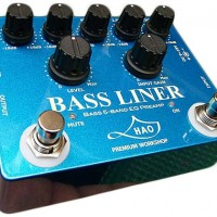 HAO Introduces Bass Liner Preamp Pedal