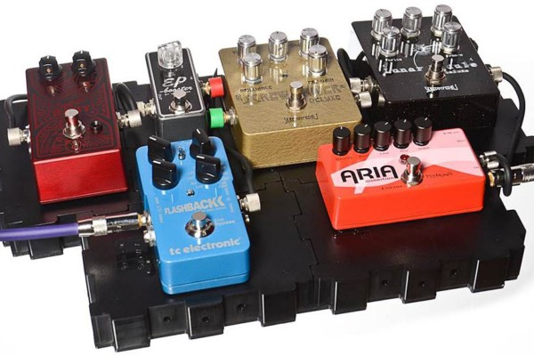 Lava Cable Introduces Grab N' Go Configurable Pedal Board System