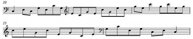 Arpeggio Work for Bass - Exercise #3