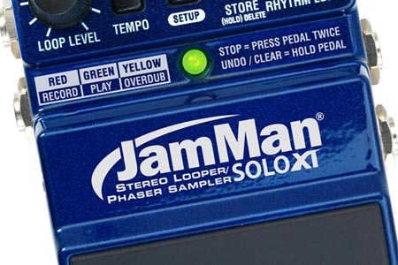 Digitech Unveils JamMan Solo XT Looping Pedal