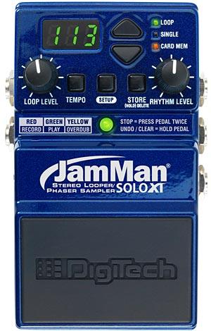 Digitech JamMan Solo XT Looping Pedal