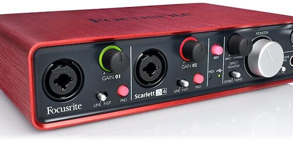 Focusrite Introduces Scarlett 2i4 Audio Interface