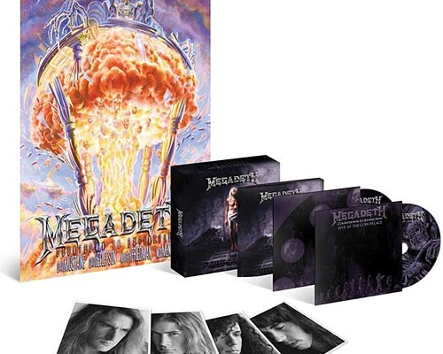 "Megadeth Announces ""Countdown To Extinction"" 20th Anniversary Album and Tour"