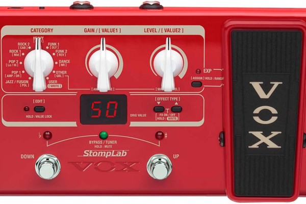 Vox Introduces Two New Multi-Effects Bass Pedals