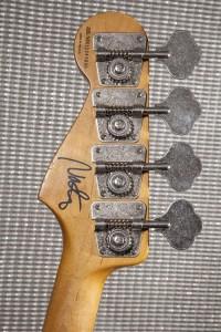 Fender Nate Mendel Signature P-Bass headstock back