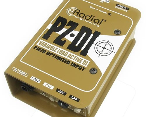 Radial Engineering Introduces PZ-DI Orchestral Acoustic Direct Box