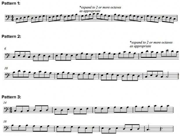 Scale Pattern Work for Bassists