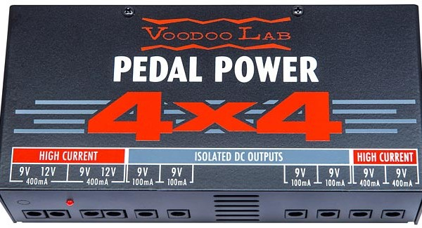 Voodoo Lab Releases Pedal Power 4×4 Power Supply