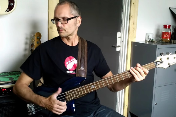 Lesson: Metronome Exercise with a Slap Bass Groove in G
