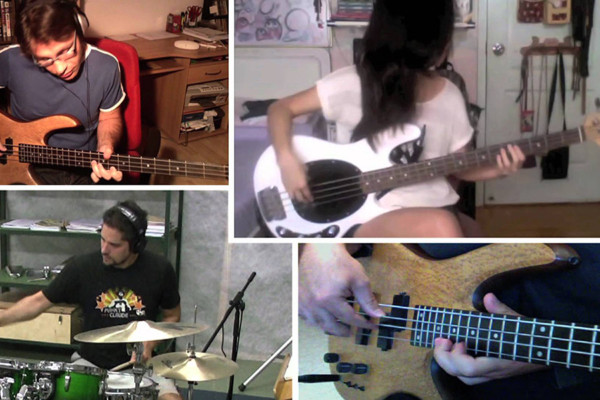 """The Jackson 5's """"I Want You Back"""" Bass And Drums Cover"""