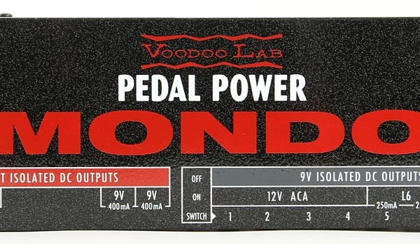 Voodoo Lab Now Shipping Pedal Power Mondo