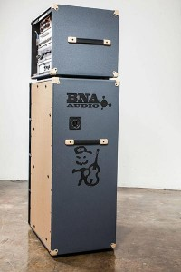 BNA Audio Bass Cabinets side view