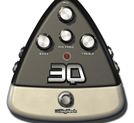 Digitech Introduces 3Q 3-band EQ E-Pedal for iStomp
