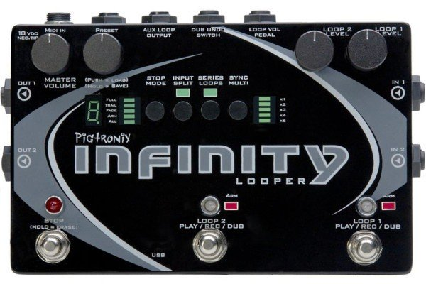 Pigtronix Infinity Looper Pedal Now Shipping