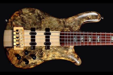 Spector Adds NS-5 Bass to USA Neck Thru Series