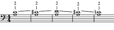 Lower note stable - Ex. 1