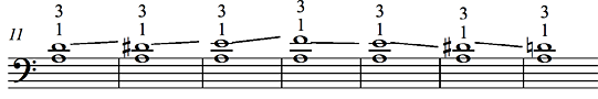 Lower note stable - Ex. 2