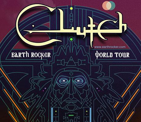 Clutch Announces North American Earth Rocker Tour Dates