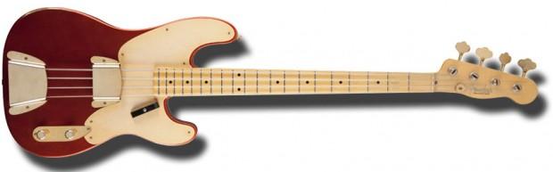 Fender Custom Shop 1951 Relic Precision Bass Melon Candy