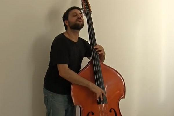 "Adam Ben Ezra: Solo Bass Cover of Andy McKee's ""Drifting"""
