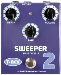 T-Rex Effects Sweeper 2 Bass Chorus Pedal
