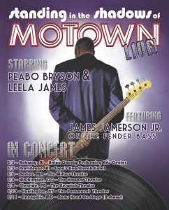 Standing in the Shadows of Motown tour poster
