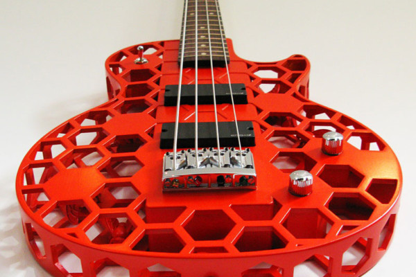 Bass of the Week: ODD Guitars Hive 3D Printed Bass Guitar