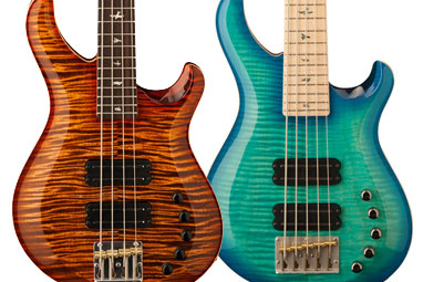 PRS Guitars Adds Grainger Basses To Core Line
