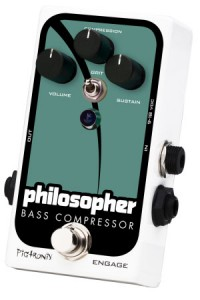 Pigtronix Philosopher Bass Compressor pedal