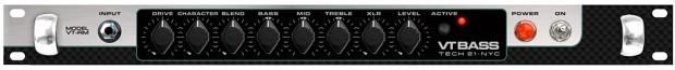 Tech 21 VT Bass DI Rackmount